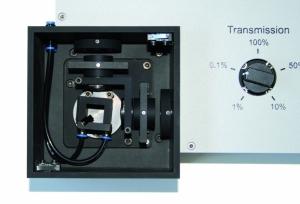 FluoTime 100 - Sample chamber