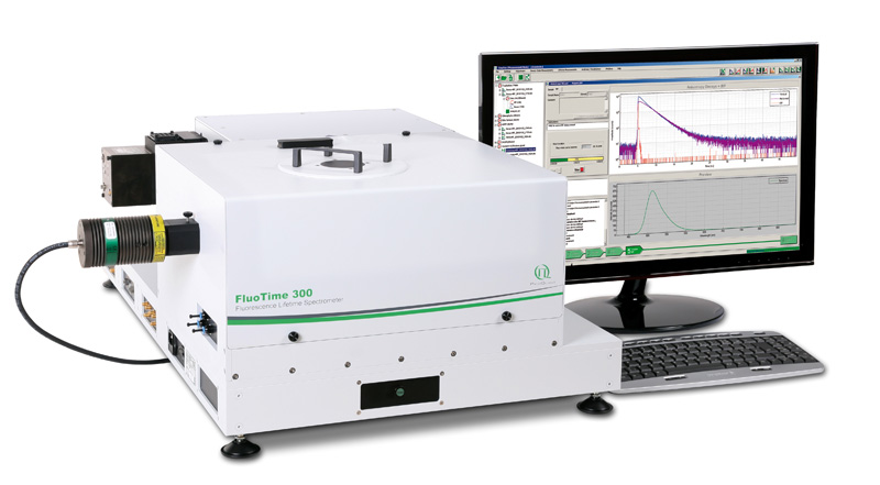 FluoTime300 - high performace fluorescence lifetime spectrometer