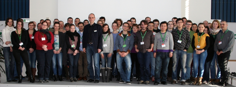 Group picture microscopy course 2014