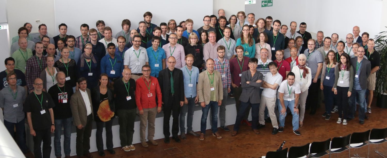 Group photo Single Molecule Workshop 2015