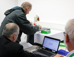 Hands-on training session with Agilent spectrometers