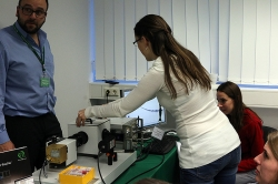 Hands-on training session with FluoTime 200