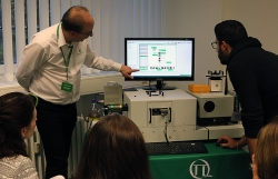 Hands-on training session with FluoTime 300