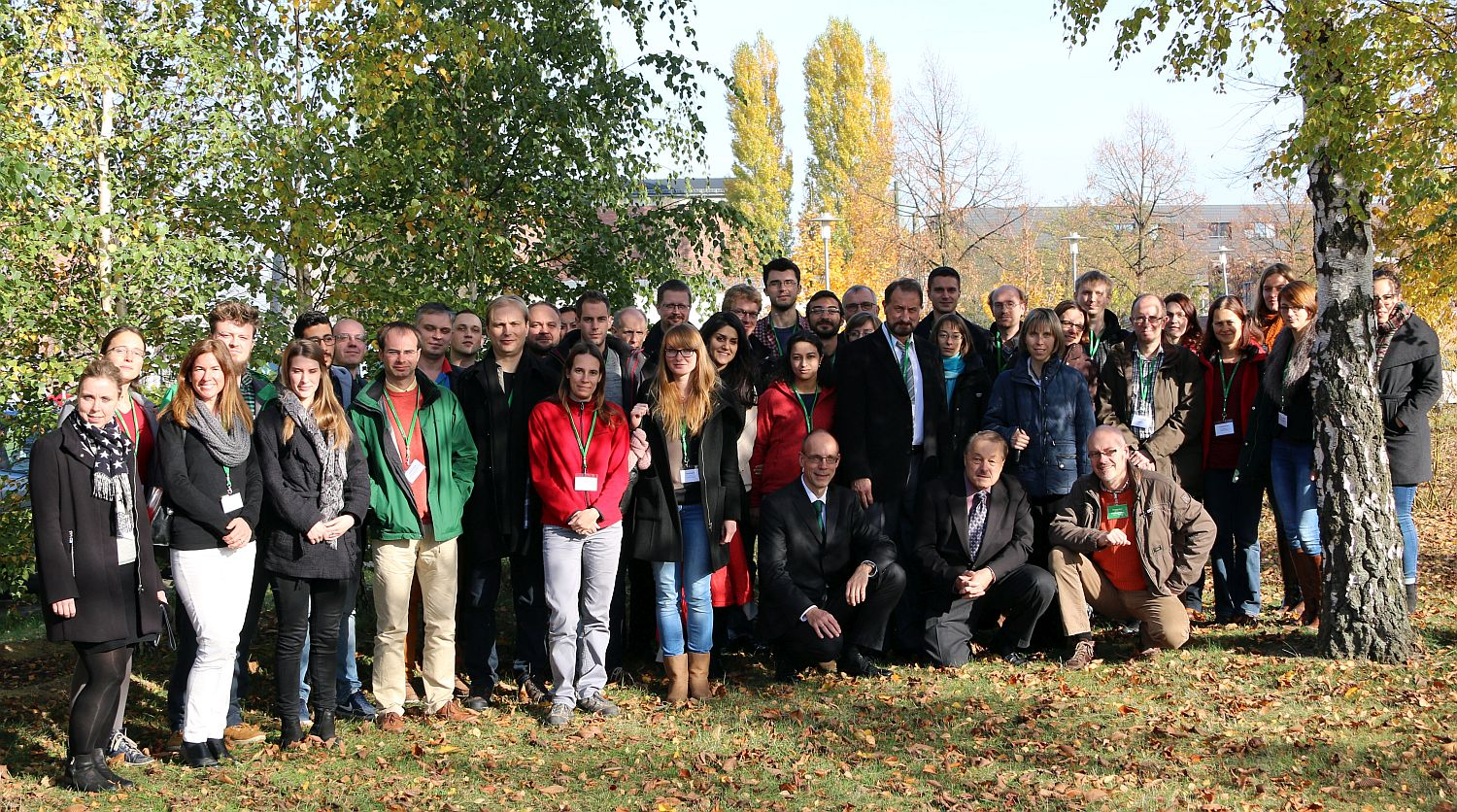 Group Picture of the Time-resolved Fluorescence Course 2015