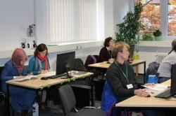 Data analysis training session