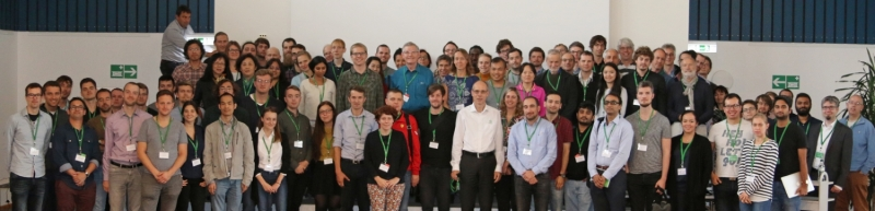 Group photo Single Molecule Workshop 2017