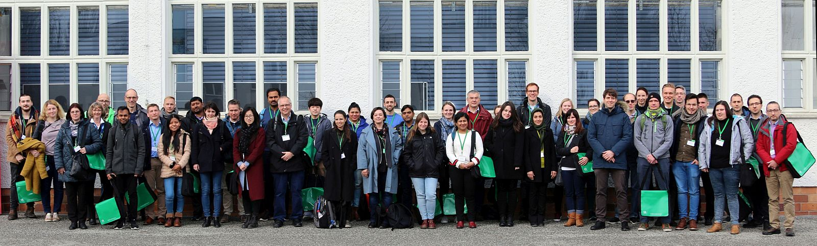 Group picture of the Microscopy Course 2019