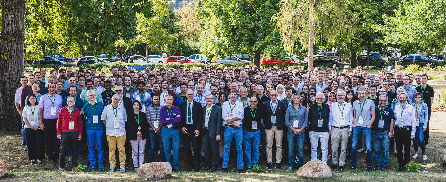 Group picture of the attendees of the 25th Single Molecule Workshop