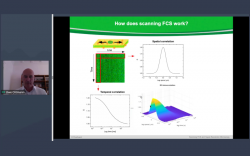 Scanning Fluorescence Correlation Spectroscopy and Super-resolution Microscopy on 2D Lipid Membranes