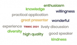 Word Cloud generated from participants' feedback