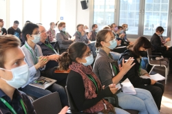 Audience after a talk