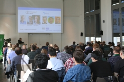 Impressions from a talk during the 26th workshop