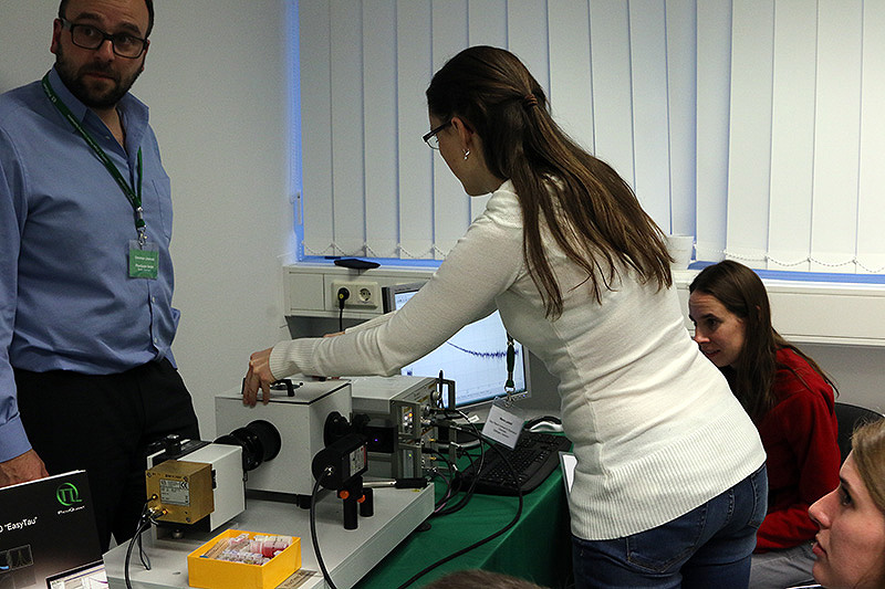 Practical Session on an FluoTime 200