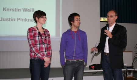 Student award winner of the single molecule workshop 2011