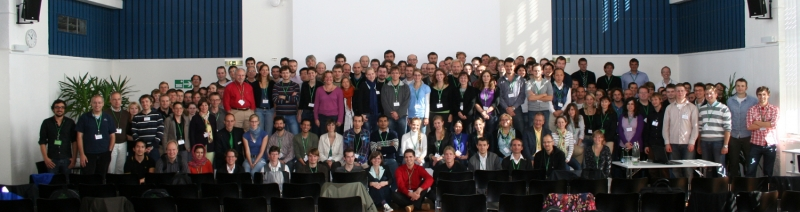 Group picture at the single molecule workshop 2010