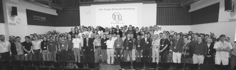 Group picture at the single molecule workshop 2009