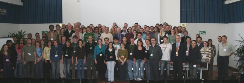 Group picture at the single molecule workshop 2008