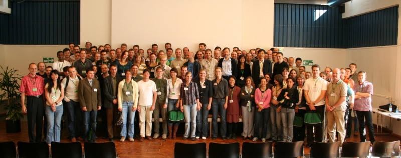 Group picture at the single molecule workshop 2006