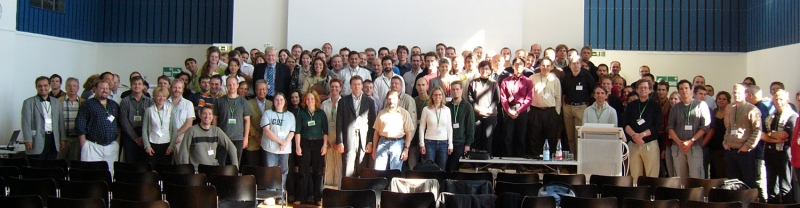Group picture at the single molecule workshop 2005