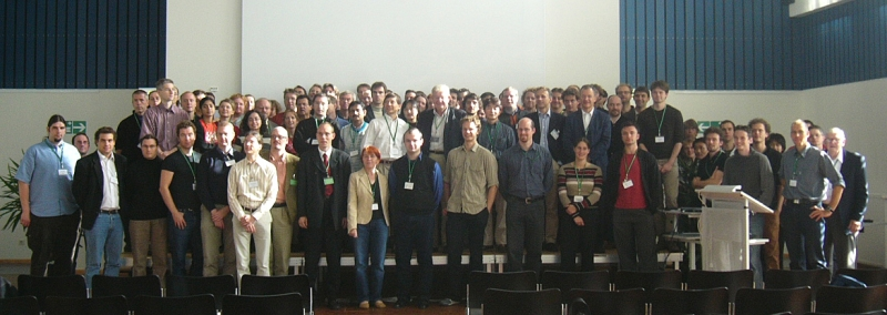 Group picture at the single molecule workshop 2004