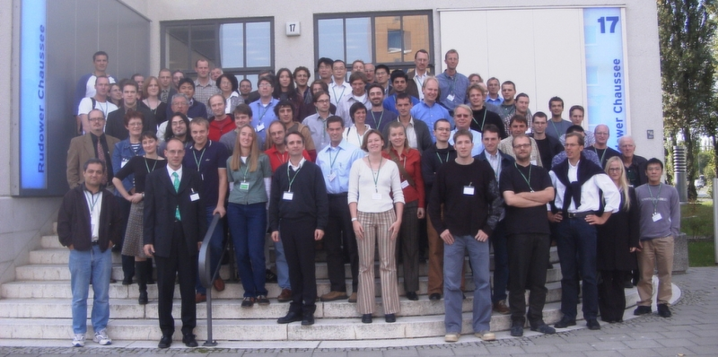 Group picture of the single molecule workshop 2003