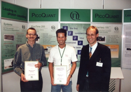 Student award at the Single Molecule Workshop 2000