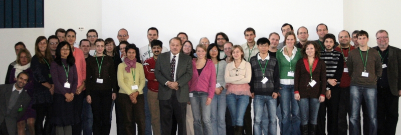 Group picture of the fluorescence course 2009