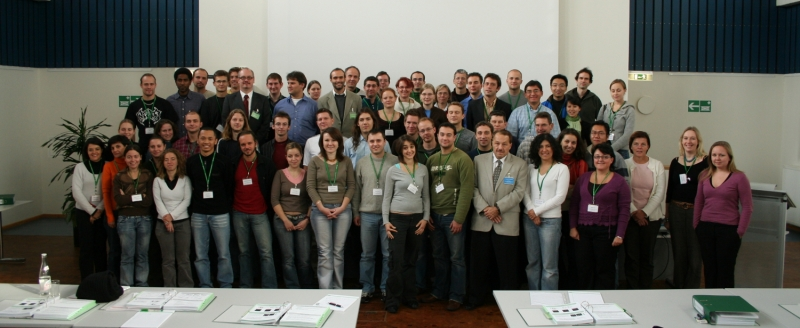 Group picture at the Fluorescence Course 2006
