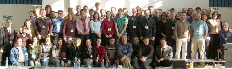 Group picture fluorescence course 2005