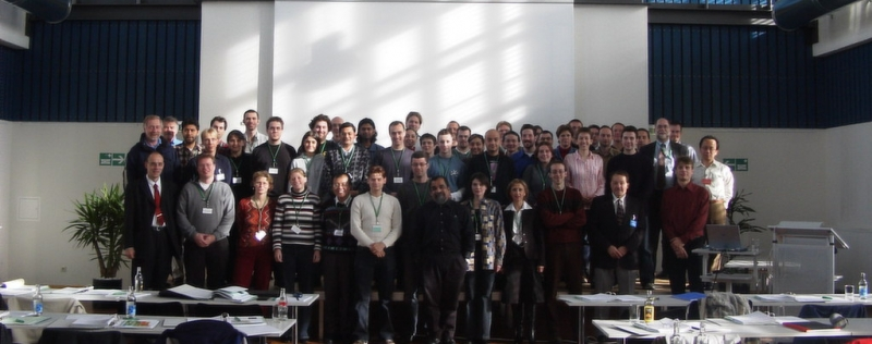 Group picture at the fluorescence course 2004