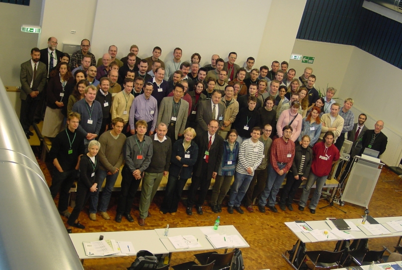 Group picture at the fluorescence course 2003