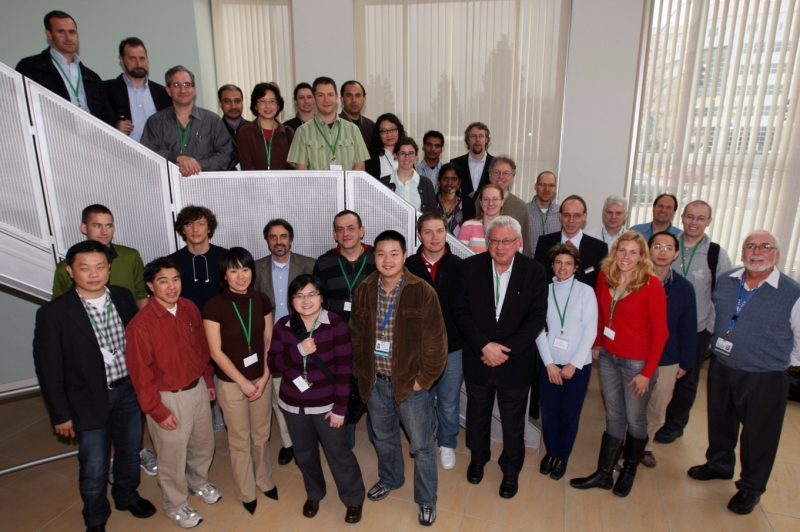 Group picture of the workshop 2009