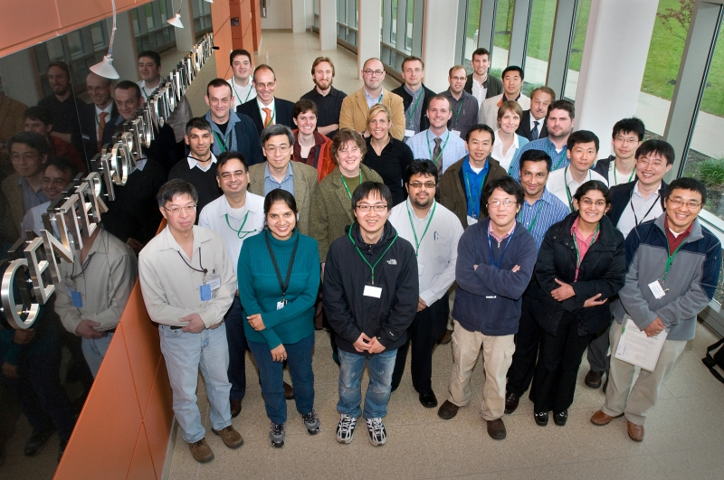 Group picture at the workshop 2010