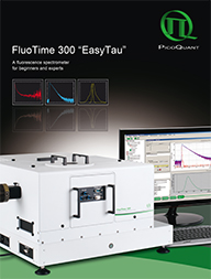 "New brochure for FluoTime 300 ""EasyTau"" available"