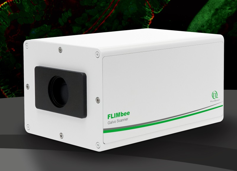 The FLIMbee: fast scanning add-on for PicoQuant's MicroTime 200 platform