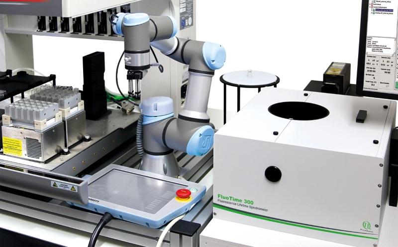 Automating time-resolved fluorescence spectroscopy