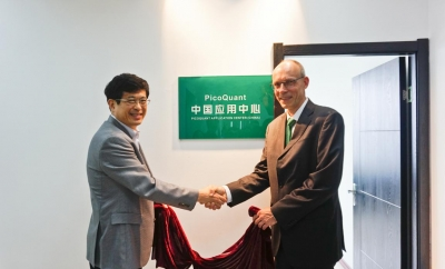 Formal opening of application center in China