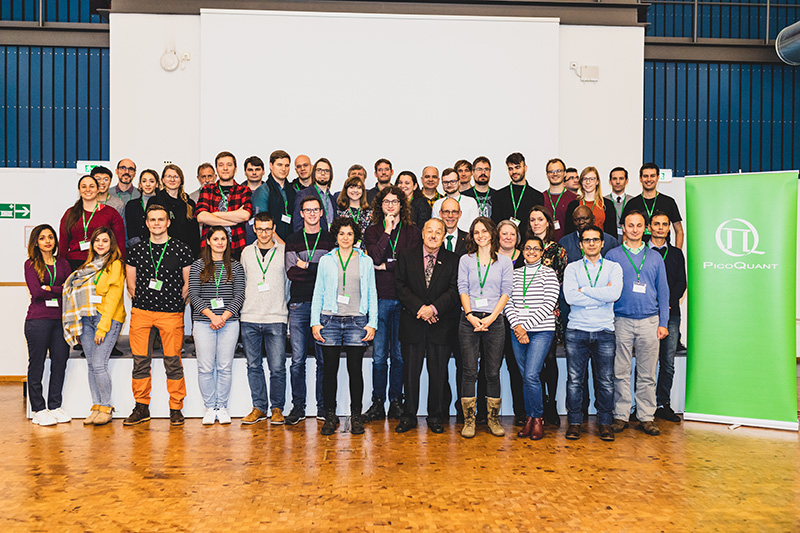38 researchers from all over the world at PicoQuant's fluorescence course