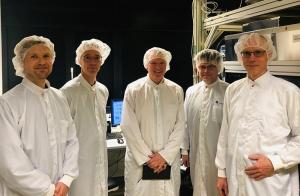 Joseph S. Broz from the Quantum Economic Development Consortium visits PicoQuant