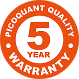 5-year limited warranty