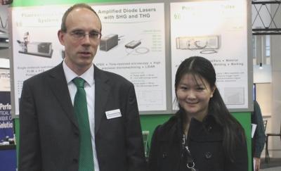 Hsiaolu D. Lee - winner young investigator award at BIOS 2012 along with Rainer Erdmann