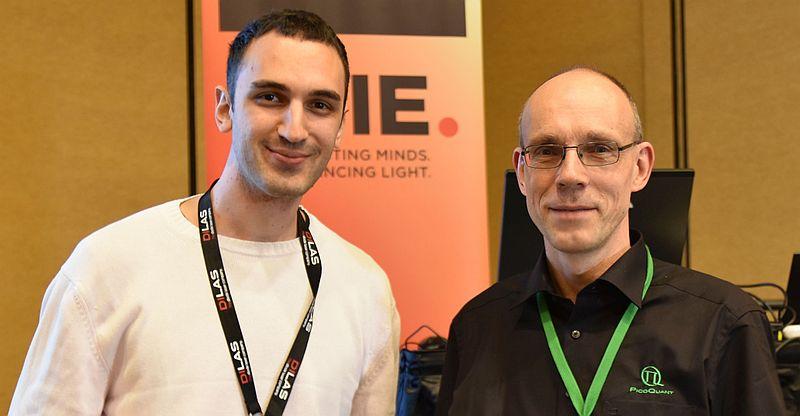 Ivan Michel Antolovic - winner young investigator award at BIOS 2016 along with Rainer Erdmann