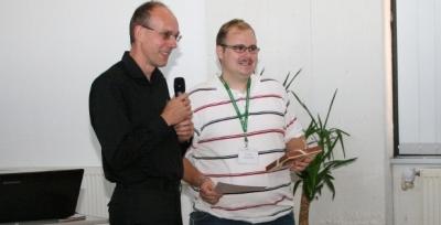 Winner of the student award 2013
