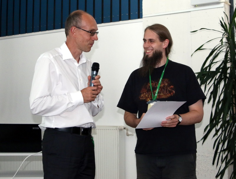 Winner of the student award 2016