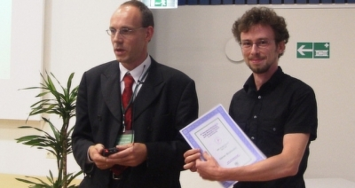 Winner of the student award 2004