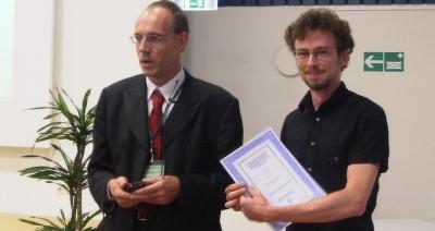 Winner of the student award 2004