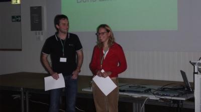 Winner of the student award 2005