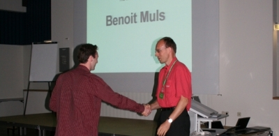 Winner of the student award 2006