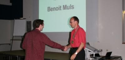Winner of the student award 2006