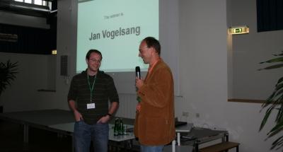 Winner of the student award 2008